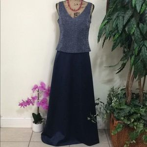 Elegant Two-piece formal gown